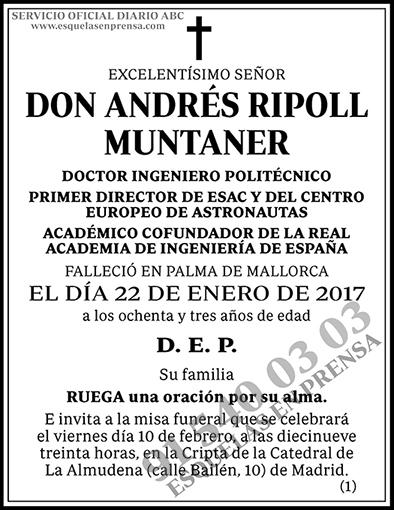 Andrés Ripoll Muntaner